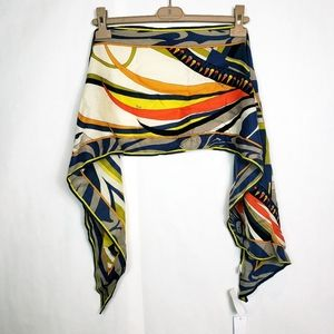 🆕️ Emilio Pucci abstract print scarf